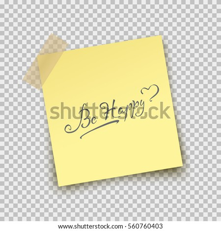 paper sheet pin on sticky tape stock vector royalty free 560760403