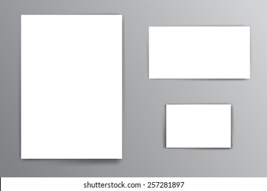 White Sheet of Paper Images, Stock Photos & Vectors