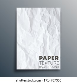 Paper texture background design for wallpaper, flyer, poster, brochure cover, typography or other printing products. Vector illustration.