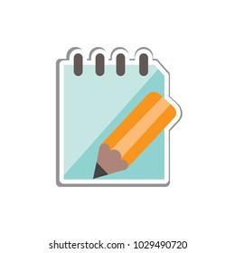 paper vector icon, flat design best vector icon
