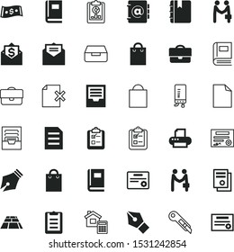 paper vector icon set such as: analytics, pattern, tile, editing, stone, billing, requirement, analysis, notepad, tax, home, printer, Ecology, realistic, boiler, repair, construction, estimate, clip