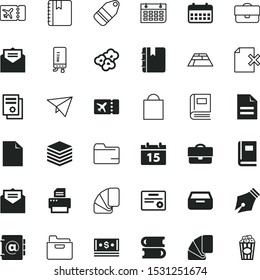 paper vector icon set such as: job, calender, seal, shopping, geyser, phone, contemporary, pattern, cardboard, system, realistic, central, wallpaper, drawn, granite, wealth, article, origami, publish