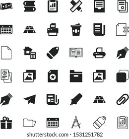 paper vector icon set such as: payment, coffee, management, review, bill, medical, planet, cup, dollar, silhouette, paper product, bookshelf, stack, travel, container, categorize, fly, correspondence