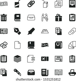 paper vector icon set such as: photo, exchange, shopping, danger, greeting, bribe, blade, save, tile, form, diploma, categorize, contract, yellow, cutter, construction, fashion, cartoon, support