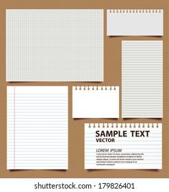 paper vector illustration