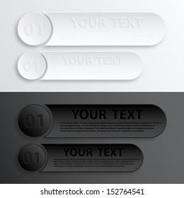 Paper Web Button Interface