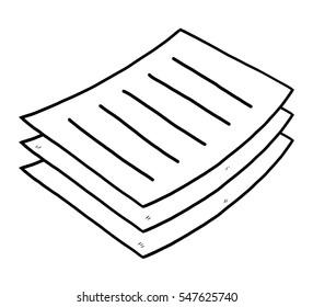 Cartoon Paper Images, Stock Photos & Vectors | Shutterstock
