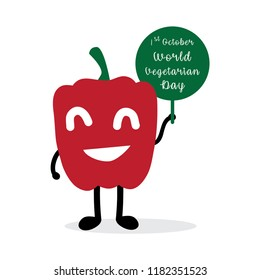 Paprica caracter world vegetarian day