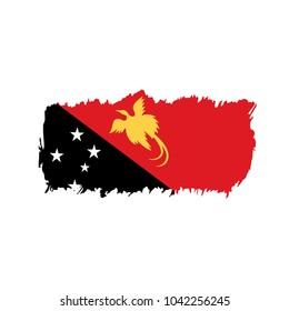 Papua New Guinea flag, vector