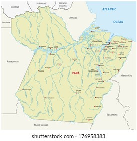 map of rivers in brazil Brazil Rivers Map Images Stock Photos Vectors Shutterstock map of rivers in brazil