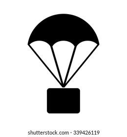 parachute vector images stock photos vectors shutterstock rh shutterstock com parachute vector png parachute vector download