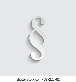 paragraph - vector icon