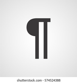 Paragraph vector icon