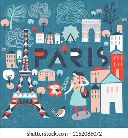 Paris. France. Print Design