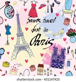 Paris Glamour Pattern