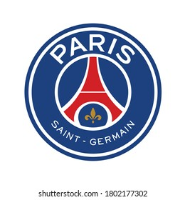 Paris icon example vector template with text