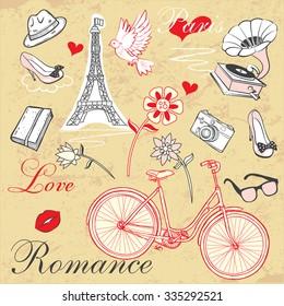 Paris Romance Set