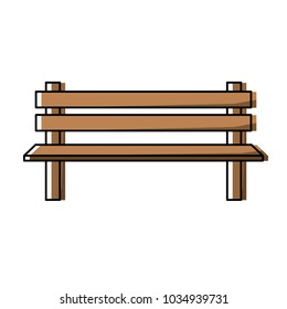Park bench icon image