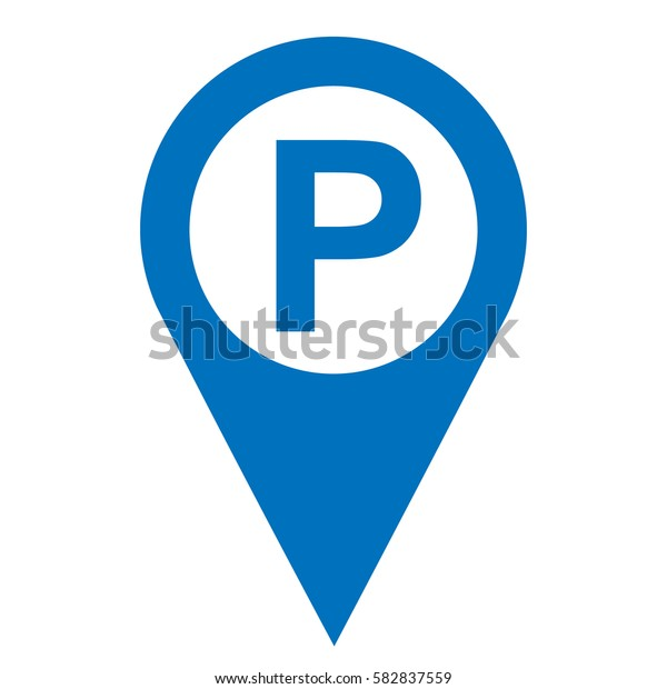 Parking Pinpoint Blue White Isolated Icon Stock Image ... on icon staff, icon transportation, icon services, icon police, icon schedule, icon calendar, icon employment, icon procurement, icon history, icon contact, icon home, icon medical, icon weather, icon meals,