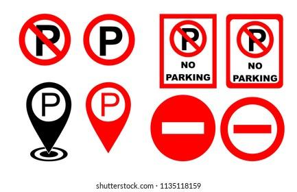 Parking Sign Illustration Vector