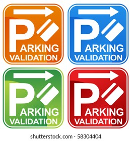 what is validating parking