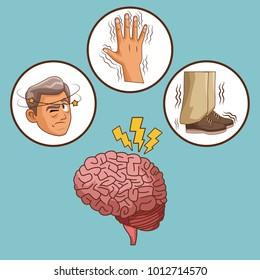 Parkinsons disease cartoon