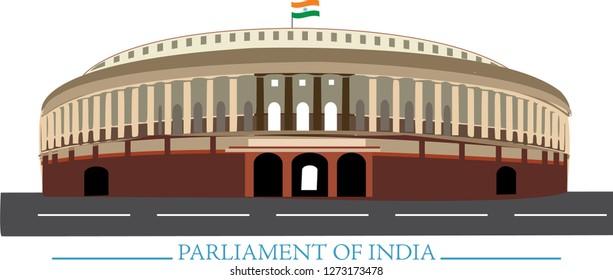 India Parliament Stock Vectors, Images & Vector Art ...