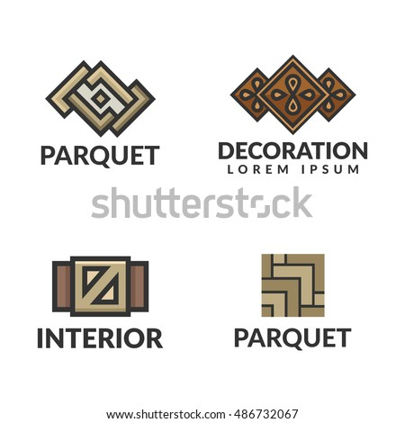 floor and decor logo immagine vettoriale a tema parquet logo laminate icon interior logo royalty free 486732067 3784