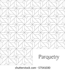 Parquetry ornament