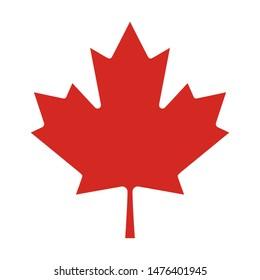 part of canada national flag true colors vector
