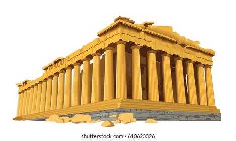 Parthenon Building Landmark