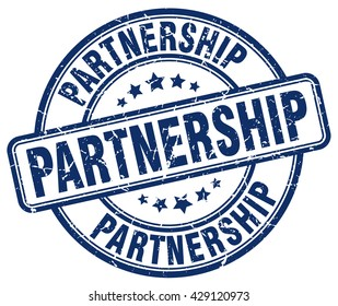 partnership. stamp