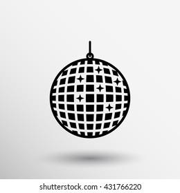 party ball icon club shiny nightclub disco.