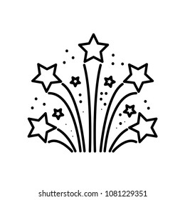 Party celebration icon vector template