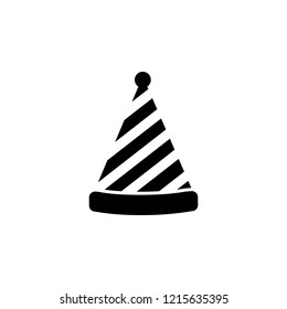 party hat icon. Simple glyph vector of party set for UI and UX, website or mobile application on white background