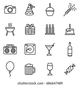 Party Icons With