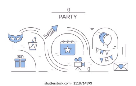 Party Icons Concept