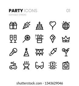 Party Line Icons 01