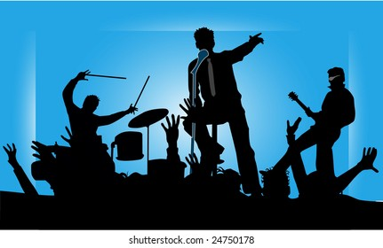 Party musicians concert band 2