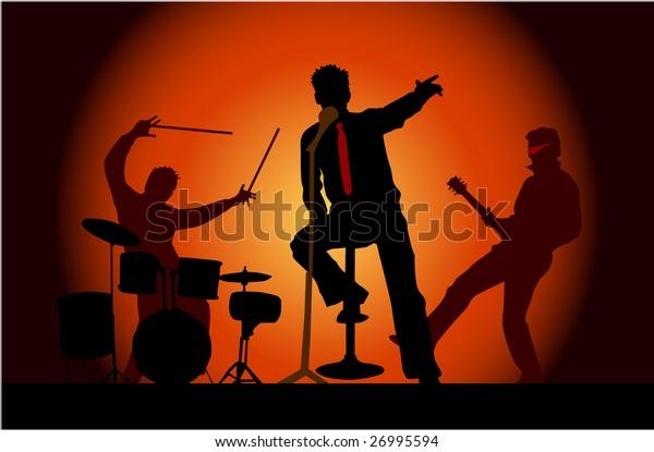 Party musicians concert band 3