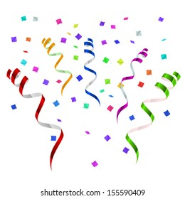Party Streamers Images, Stock Photos & Vectors | Shutterstock