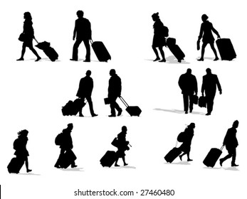 passenger silhouettes collection
