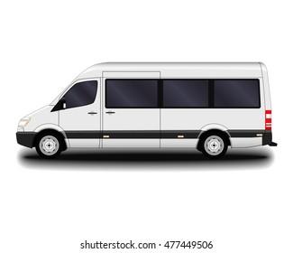 passenger van.