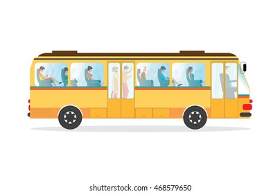 Cartoon Bus Images Stock Photos Vectors Shutterstock