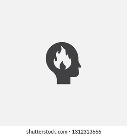 passion base icon. Simple sign illustration. passion symbol design. Can be used for web, print and mobile