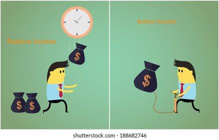 passive and active income