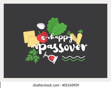Passover illustration. EPS 10