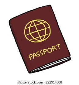 Image result for passport cartoon
