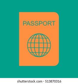 Passport icon.