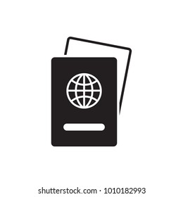 Passport. Simple illustration of passport vector.